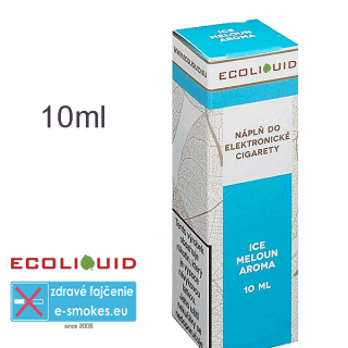 Ecoliquid e-liquid Ice meloun 10ml 12mg