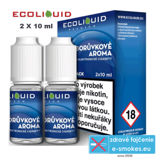 Ecoliquid e-liquid Boruvka 2 X 10ml 12mg
