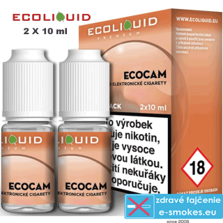 Ecoliquid e-liquid ECOCAM 2 X 10ml 12mg