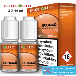 Ecoliquid e-liquid ECOMAR 2 X 10ml 12mg