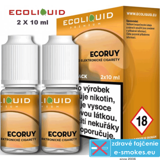 Ecoliquid e-liquid ECORUY 2 X 10ml 12mg