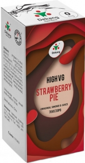 e-liquid Dekang High VG Strawberry Pie 10ml - 1,5mg (jahodový koláč)