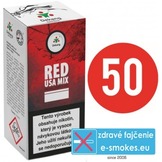 e-liquid Dekang Fifty RED USA MIX 10ml - 3mg