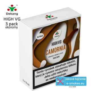 Dekang High VG 3Pack Camornia 3x10ml 1,5mg