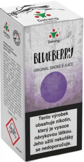 e-liquid Dekang Blueberry 10ml - 11mg (čučoriedka)