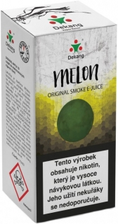 e-liquid Dekang Melon 10ml-3mg (žltý melón)