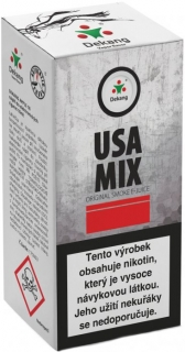 e-liquid Dekang USA MIX 10ml - 3mg