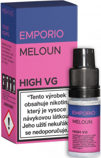 Liquid EMPORIO High VG MELON 10ml - 1,5mg