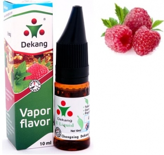 e-liquid Dekang SILVER Raspberry 10ml - 16mg (Malina)