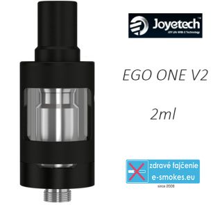 Joyetech clearomizer eGo ONE V2  2,0 ml - čierny