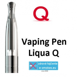 LIQUA Q Vaping Pen clearomizer 2 ml 1,8 ohm - čierny