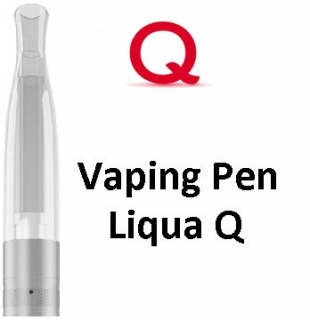 LIQUA Q Vaping Pen clearomizer 2 ml 1,8 ohm - číry