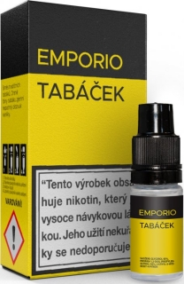 Liquid EMPORIO Tobacco 10ml - 9mg
