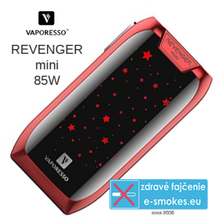 Vaporesso Revenger Mini TC85W Easy kit - červený