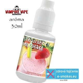 Vampire Vape príchuť Strawberry Milkshake – 30ml