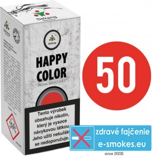 e-liquid Dekang Fifty HAPPY COLOR 10ml - 3mg