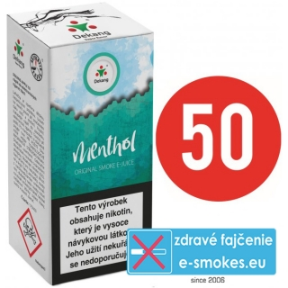 e-liquid Dekang Fifty MENTHOL 10ml - 16mg
