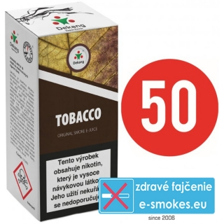 e-liquid Dekang Fifty TOBACCO 10ml - 16mg