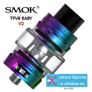 SmokTech TFV8 BABY V2 clearomizer 5ml - 7color