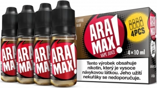 ARAMAX 4Pack Coffee Max 4x10ml 3mg