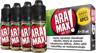 ARAMAX 4Pack Max Apple 4x10ml 3mg