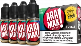 ARAMAX 4Pack Max Drink 4x10ml 3mg