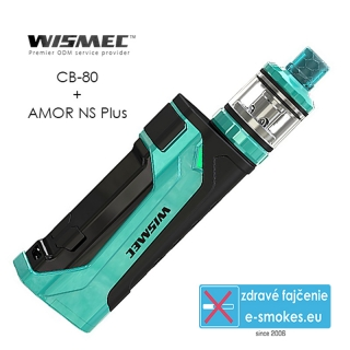 Wismec full kit CB-80 s AMOR Pro - Green