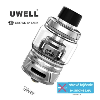UWELL clearomizer CROWN4 6ml - Stainless Steel