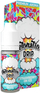 aróma pre e-liquid Detonation Drip - Strawberry On Ice  10ml