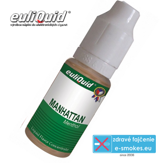 EULIQUID príchuť Manhattan Mentol 10ml