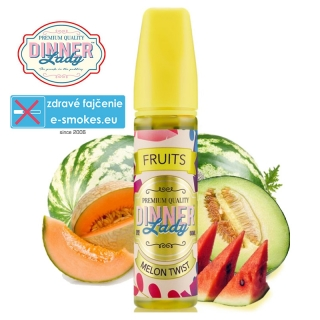 DINNER LADY Fruits aróma Shake and Vape MELON TWIST 20ml
