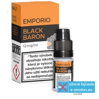 e-liquid Emporio Salt BLACK BARON 10ml - 12mg