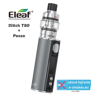 Eleaf full kit iStick T80 with Pesso - Grey